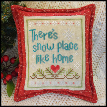 Country Cottage Needleworks - Snow Place Like Home - Snow Place 3-Country Cottage Needleworks - Snow Place Like Home - Snow Place 3