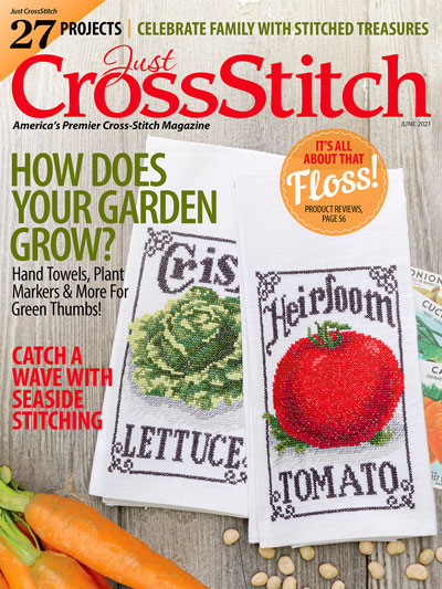 Just Cross Stitch - 2021 #3 May/June Issue-Just Cross Stitch - 2021 3 MayJune Issue, magazine, cross stitch, summer, projects