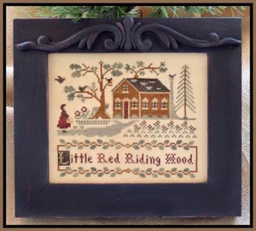 Classic Colorworks Designs - A Story Book Classic - Little Red Riding Hood - Cross Stitch Pattern