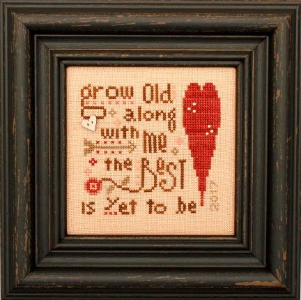 Heart in Hand Needleart - 2017 Collector's Heart - Cross Stitch Kit-Heart in Hand Needleart -  2017 Collectors Heart - Cross Stitch Kit