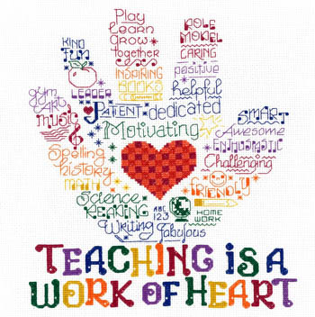 Imaginating - Let's Hug A Teacher-Imaginating - Lets Hug A Teacher, teaching, love, students, classes, cross stitch