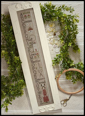 Little House Needleworks - Needlework ABC's - Nashville Exclusive Kit