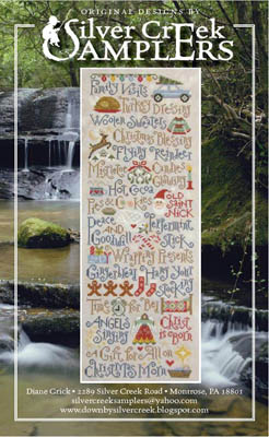 Silver Creek Samplers - My Christmas List-Silver Creek Samplers - My Christmas List, Santa Claus, Christmas, presents, children, cross stitch