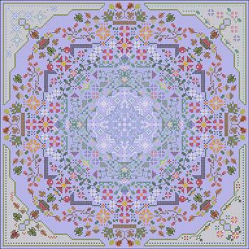 Carolyn Manning Designs - Four Seasons Mandala-Carolyn Manning Designs - Four Seasons Mandala, seasons, fall, spring, summer, winter, cross stitch
