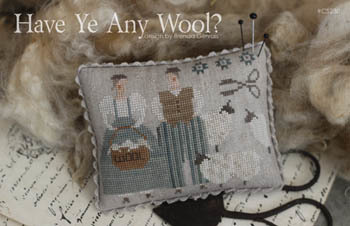 With Thy Needle & Thread - Have Ye Any Wool?-With Thy Needle  Thread - Have Ye Any Wool, scissors, textiles, sheep, spinning, knitting, cross stitch