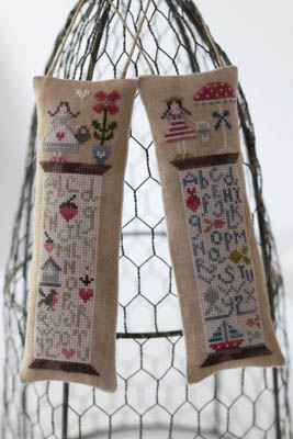 Tralala - Histoire De Bobines - Printemps/Ete-Tralala - Histoire De Bobines - PrintempsEte, Spring, Summer , bobbins, threads, cross stitch