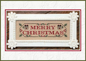 Country Cottage Needleworks - Merry Christmas-Country Cottage Needleworks - Merry Christmas, decorating, Christmas, holidays, cross stitch