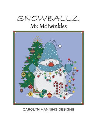 Carolyn Manning Designs - Mr. McTwinkles (Snowballz)-Carolyn Manning Designs - Mr. McTwinkles Snowballz