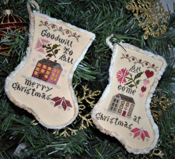 Abby Rose Designs - Sampler Stockings 2018