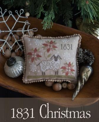 Plum Street Samplers - 1831 Christmas-Plum Street Samplers - 1831 Christmas, Christmas