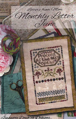 Jeannette Douglas Designs - Letters From Mom 11 - June-Jeannette Douglas Designs - Letters From Mom 11 - June, mothers, love notes, cross stitch