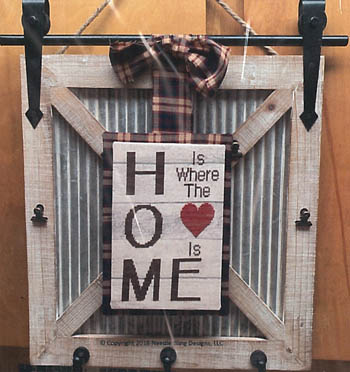 Needle Bling Designs - Heart & Home-Needle Bling Designs - Heart  Home, love, family, cross stitch, barn door,