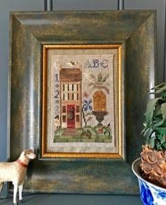 Homespun Elegance - Hospitality House-Homespun Elegance - Hospitality House, welcome, guests, family, cross stitch
