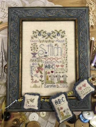 Shepherd's Bush - Stitching Notes-Shepherds Bush - Stitching Notes, sewing, cross stitch, buttons, calm,