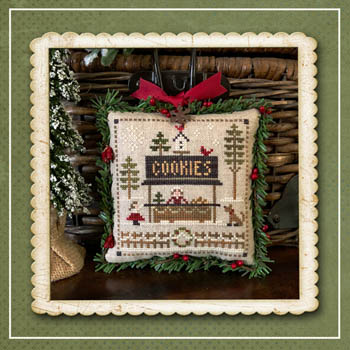 Little House Needleworks - Jack Frost's Tree Farm - Part 7 Cookies-Little House Needleworks - Jack Frosts Tree Farm - Part 7 Cookies, ornaments, Christmas, cross stitch