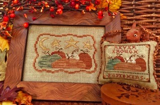 Homespun Elegance - Country Spirits Collection - Never Enough Pumpkins-Homespun Elegance - Country Spirits Collection - Never Enough Pumpkins, fall, autumn, cross stitch