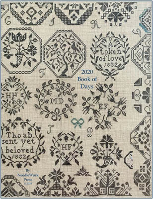 NeedleWorkPress - 2020 A Needlework Enthusiast's Book Of Days-NeedleWorkPress - 2020 A Needlework Enthusiasts Book Of Days, calendar, samplers, planner, appointments, cross stitch