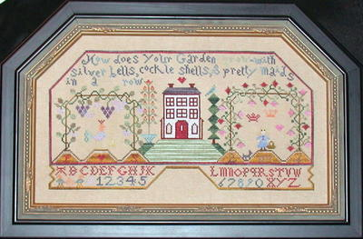Praiseworthy Stitches - Arbor House   Cross Stitch Pattern