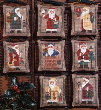 Prairie Schooler - St. Nicholas-Prairie Schooler - St. Nicholas, Santa Claus, Christmas, ornaments, cross stitch
