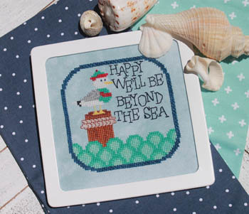 Luhu Stitches - Beyond the Sea-Luhu Stitches - Beyond the Sea, seagull, ocean, waves,