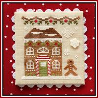 Country Cottage Needleworks - Gingerbread Village - Part 11 - Gingerbread House 8