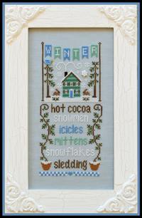 Country Cottage Needleworks - Seasonal Celebrations - Part 4 - Winter-Country Cottage Needleworks - Seasonal Celebrations - Part 4 - Winter,