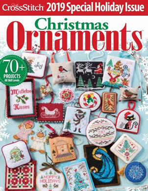 Just Cross Stitch - 2019 Christmas Special Collector's Issue-Just Cross Stitch - 2019 Christmas Special Collectors Issue, ORNAMENTS, CHRISTMAS,