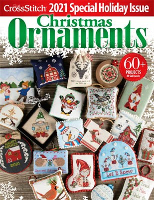 Just Cross Stitch - 2021 Special Holiday Ornament Issue-Just Cross Stitch - 2021 Special Holiday Ornament Issue, Christmas, decorations, magazine, projects, cross stitch