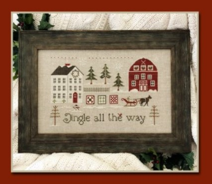 Little House Needleworks - Jingle All The Way-Little House Needleworks - Jingle All The Way