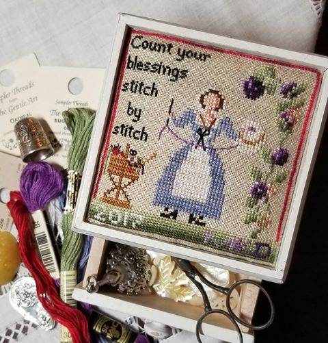 Blackberry Lane Designs - Count your Blessings Stitch by Stitch-Blackberry Lane Designs - Count your Blessings Stitch by Stitch, cross stitch, passion, grace, blessings,
