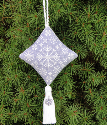 Historic Stitches - Christmas Snowfall Ornament - Cross Stitch Chart-Historic,Stitches,Christmas,Snowfall, Ornament,Cross,Stitch,Chart,snowflake,easy