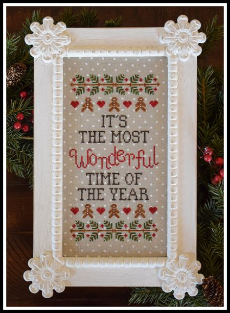 Country Cottage Needleworks - Wonderful Time of Year-Country Cottage Needleworks - Wonderful Time of Year, Christmas, happy, family, birth of Christ, Cross stitch