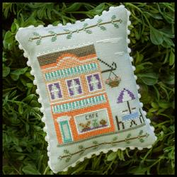 Country Cottage Needleworks - Main Street - Part 7 - Cafe-Country Cottage Needleworks - Main Street - Part 7 - Cafe ,
