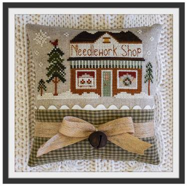 Little House Needleworks - Hometown Holiday - Needlework Shop-Little House Needleworks - Hometown Holiday - Needlework Shop, crafts store, cross stitch, knitting, sewing,