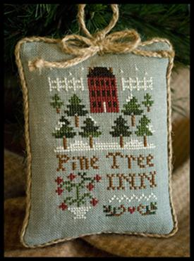 Little House Needleworks - Ornament of the Month 2011 - Pine Tree Inn