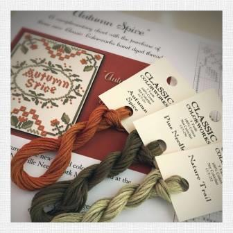 Little House Needleworks - Autumn Spice Thread Pack
