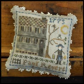 Little House Needleworks - Early Americans - Part 6 - Paul Revere-Little House Needleworks - Early Americans - Part 6 - Paul Revere,