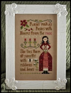 Little House Needleworks - Rosey - Cross Stitch Pattern