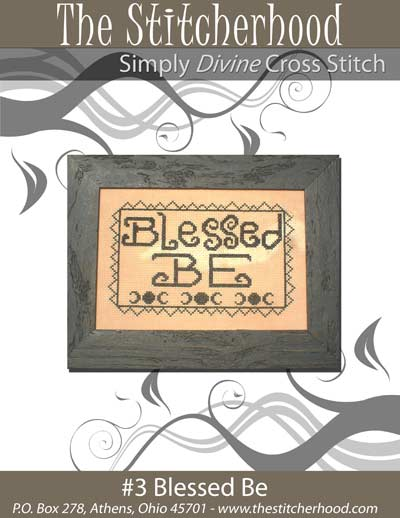 The Stitcherhood - Blessed Be - Cross Stitch Pattern-The Stitcherhood - Blessed Be - Cross Stitch Pattern