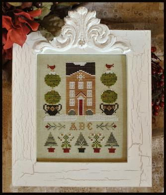 Little House Needleworks - Holiday House - Cross Stitch Pattern