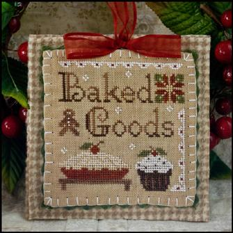 Little House Needleworks - Ornament of the Month 2011 - Baked Goods