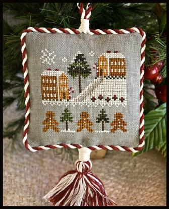 Little House Needleworks - Ornament of the Month 2011 - Gingerbread Village