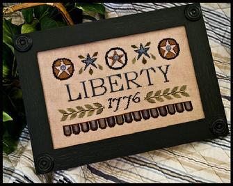 Little House Needleworks - Liberty 1776 - Cross Stitch Pattern