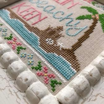 Country Cottage Needleworks - Beachy Keen-Country Cottage Needleworks - Beachy Keen, ocean, summer, waves, cross stitch