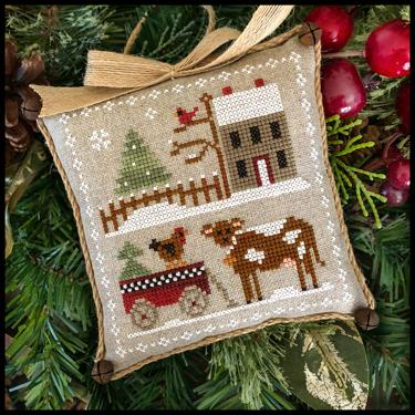 Little House Needleworks - Farmhouse Christmas - Part 4 - Dairy Darlin'-Little House Needleworks - Farmhouse Christmas - Part 4 - Dairy Darlin