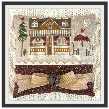 Little House Needleworks - Hometown Holiday - Coffee Shop-Little House Needleworks - Hometown Holiday - Coffee Shop