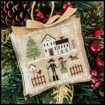 Little House Needleworks - Farmhouse Christmas - Part 8 - Farm Folks-Little House Needleworks - Farmhouse Christmas - Part 8 - Farm Folks, COUNTRY, cross stitch