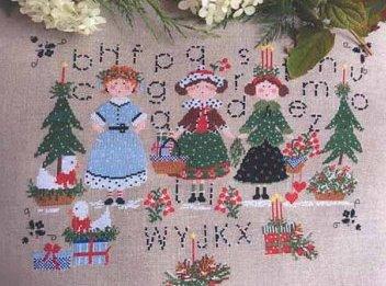 Lilli Violette - Natale con te-Lilli Violette - Natale Con Te, Christmas, sampler, toys, cross stitch