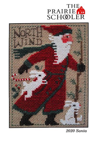 Prairie Schooler - 2020 Santa-Prairie Schooler - 2020 Santa, Christmas,
