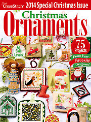 Just Cross Stitch - 2014 Special Christmas Issue-Just Cross Stitch,  2014 Special Christmas Issue, magazine, recipes, Santa claus, Christmas, ornaments,